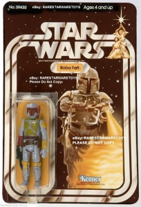 Ultra Rare Boba Fett Star Wars Toy